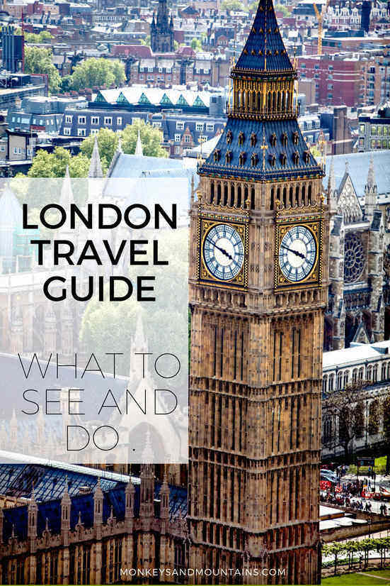 Your London Travel Guide complete with what to see and do in London, the top Londo attractions, the best neighbourhoods to explore on foot and recommendations of where to stay.