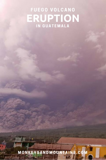 Fuego Volcano's Eruption in Guatemala: An Insider's Tale and How You Can Help