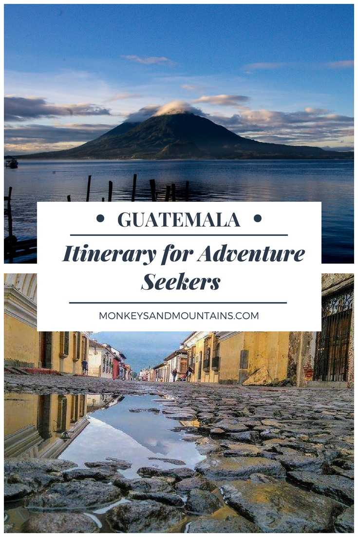 12-Day Guatemala itinerary for adventure seekers. You'll discover the best places to visit in Guatemala, the best time to travel to Guatemala along with where to stay and what to eat. Written by a local.