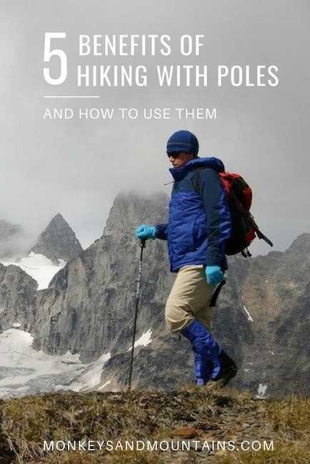 hiking poles benefits