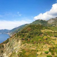 Cinque Terre hiking and hiking in Italy
