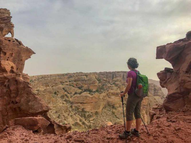Hiking Jordan Trail