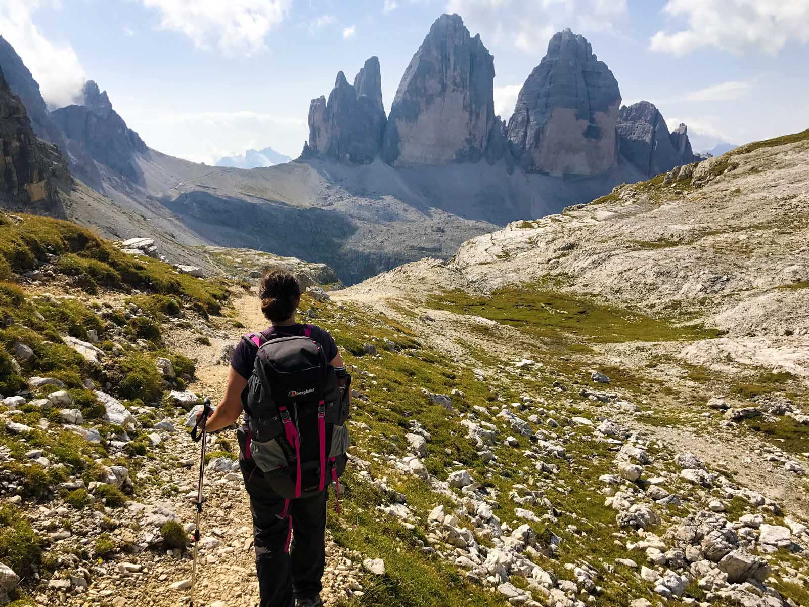Hike the Dolomites in North-Eastern Italy
