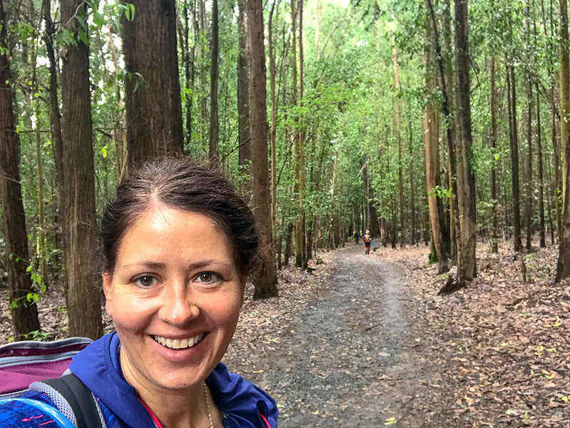 The aromatic smells of an eucalyptus forest make it a heaven for hikers.