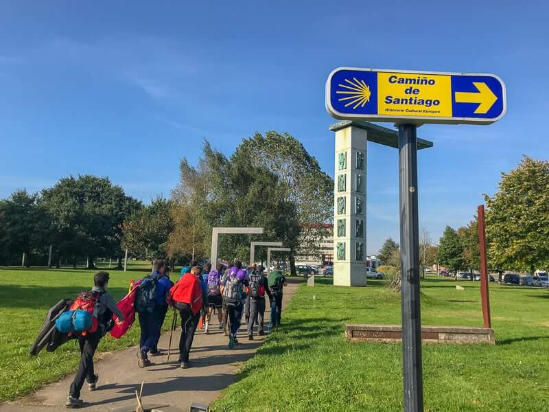 For your first multi-day hike the last 100 km of the Camino in Spain is a great hike for beginners.