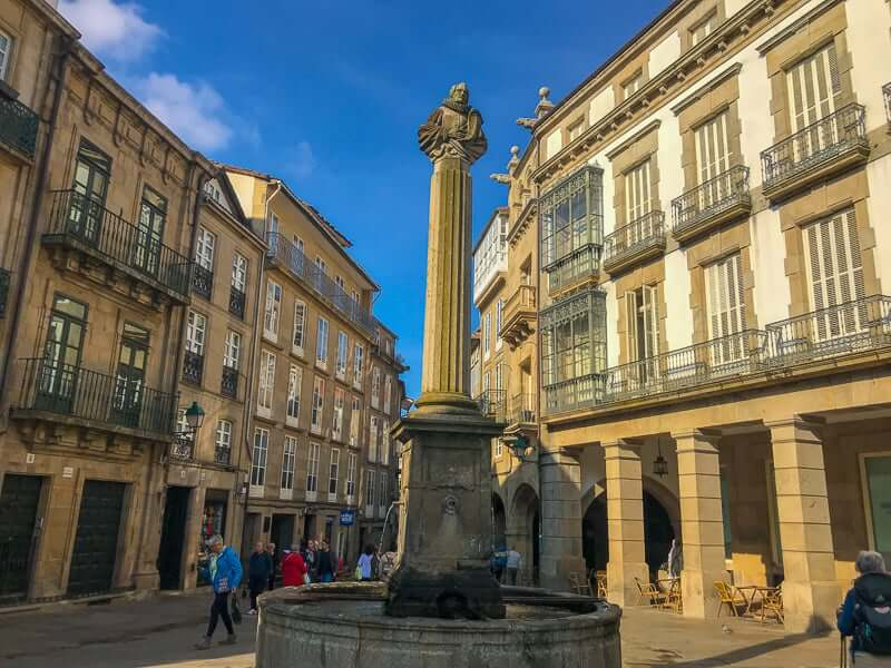 Santiago is the finish point of the Camino de Santiago and is worth exploring.