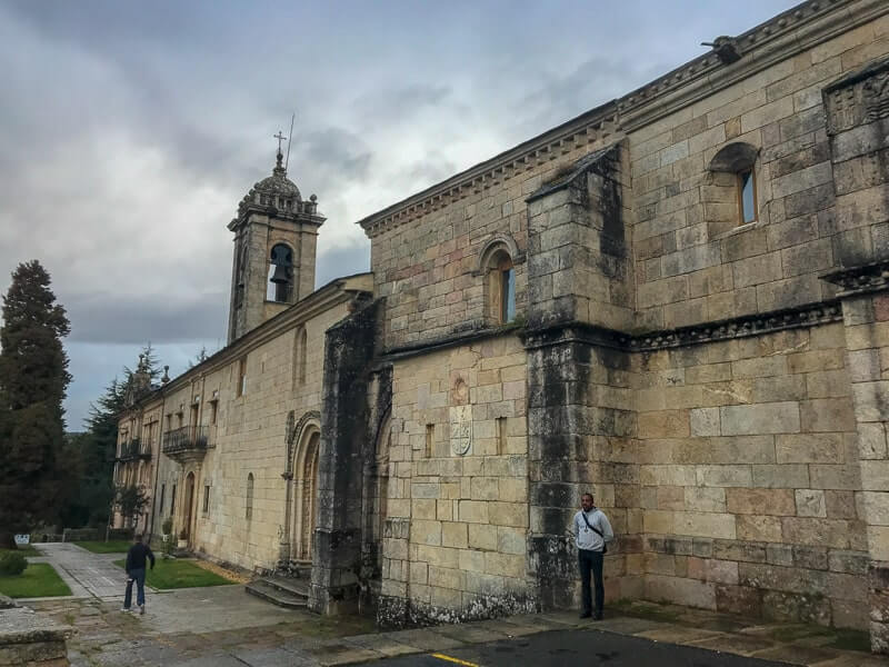 you'll pass lots of churches and monasteries on the Camino de Santiago
