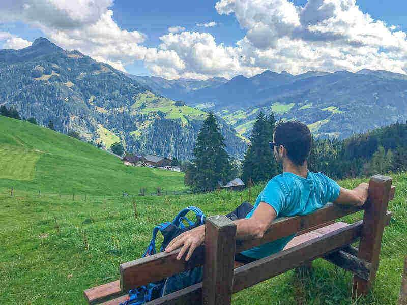 active relaxation in Grossarl, Austria
