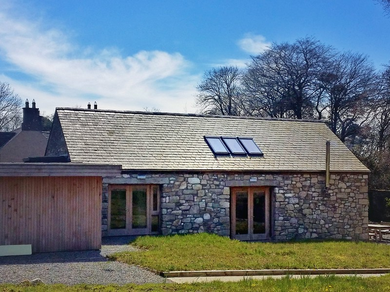 Eco-friendly barn with all materials ethically sourced in Ireland.