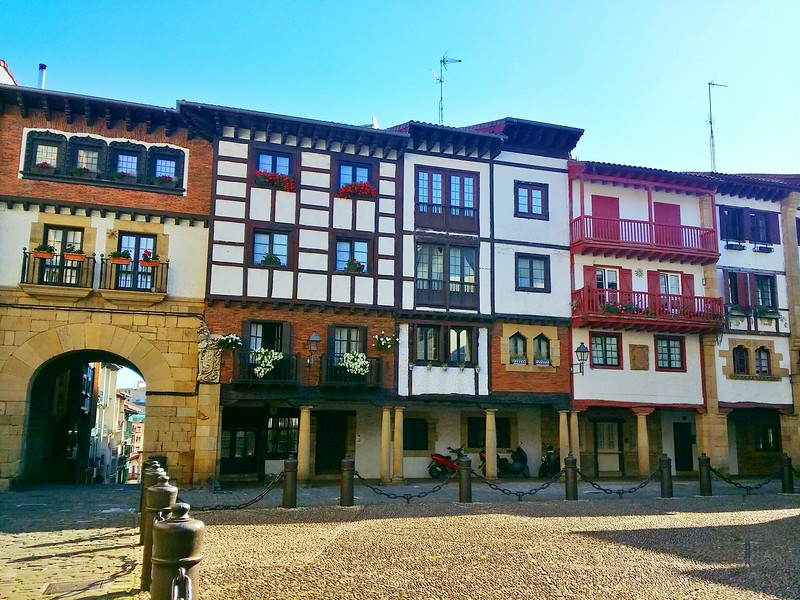 Hondarribia is the most beautiful town in Basque Country.