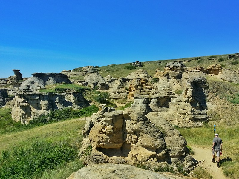 I loved hiking among the Hoodoos.