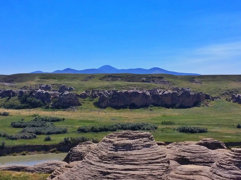 The Sweet Grass Hills in Montana were a frequent spot for young Blackfoot men to go for their vision quest.