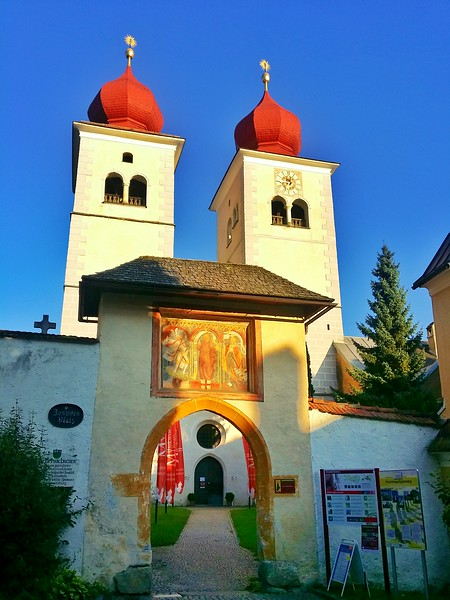 One of the highlights of Milstatt is the Benedictine Abbey.