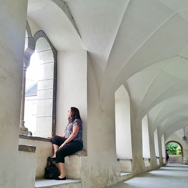 Milstatt Abbey is the perfect place for contemplation.