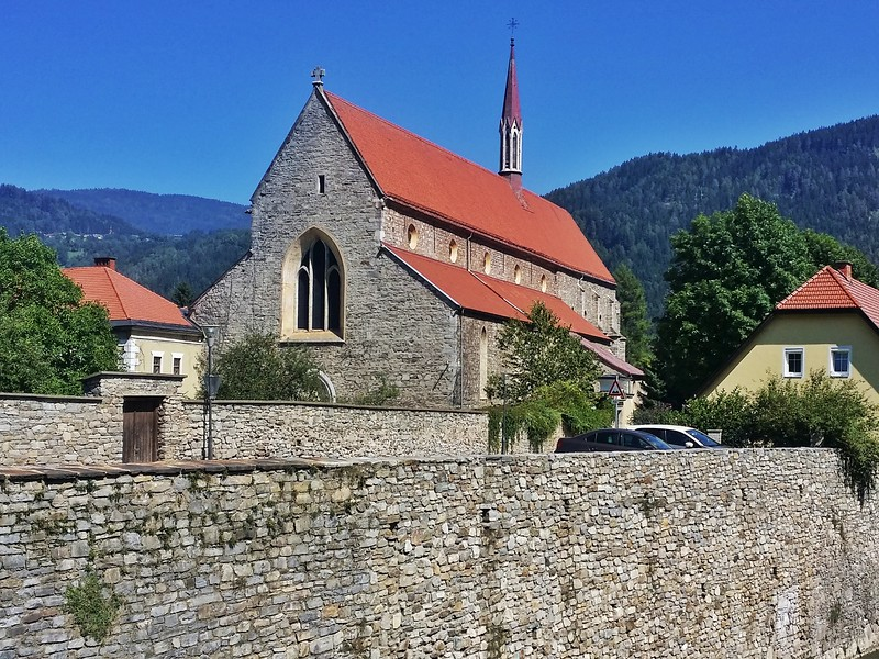 Dating back to 1217, this is the oldest Dominiman monastery in the German-speaking part of the world. It's located in Freisach, Carinthia, Austria.