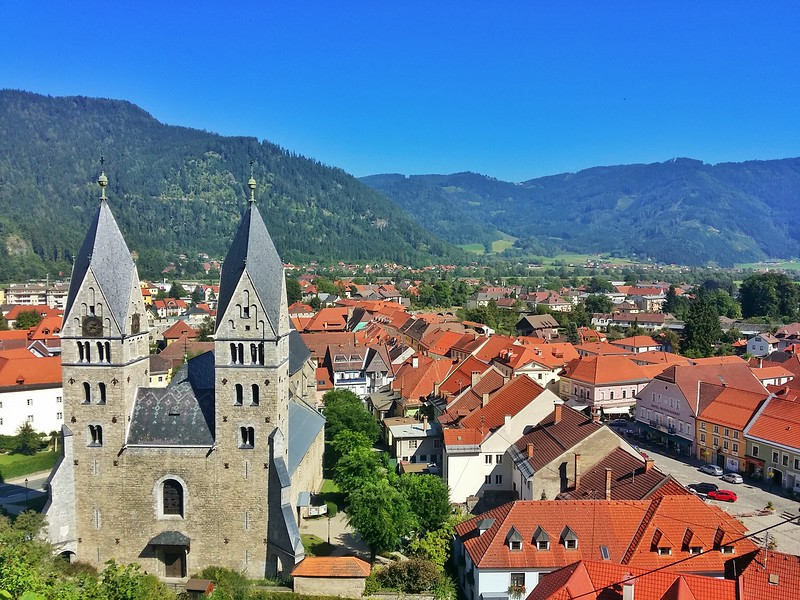 Friesach is the best-preserved medieval town in Austria.