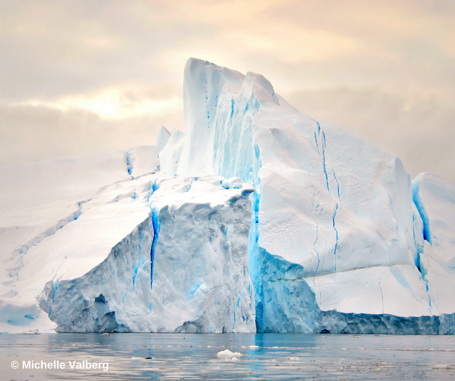 you'll see icebergs when you travel to the Arctic