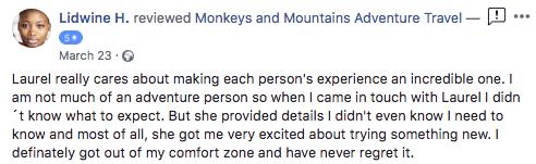 adventure tour review