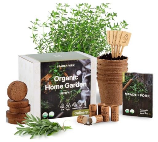 Herb Garden Kit - a backyard gift for animal lovers