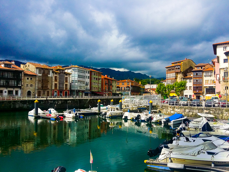 Llanes is a medieval fishing town in Asturias, Spain