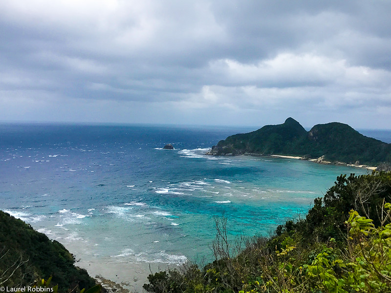 Sea views from Zamami, one of the islands forming Kerma Shoto National Park in Okinawa, Japan.