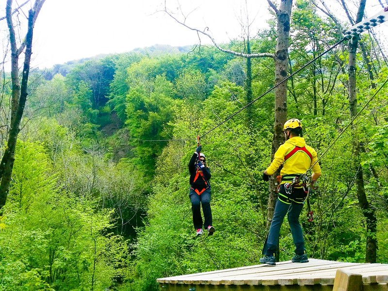 ziplining adventures in Como Italy 1st photo