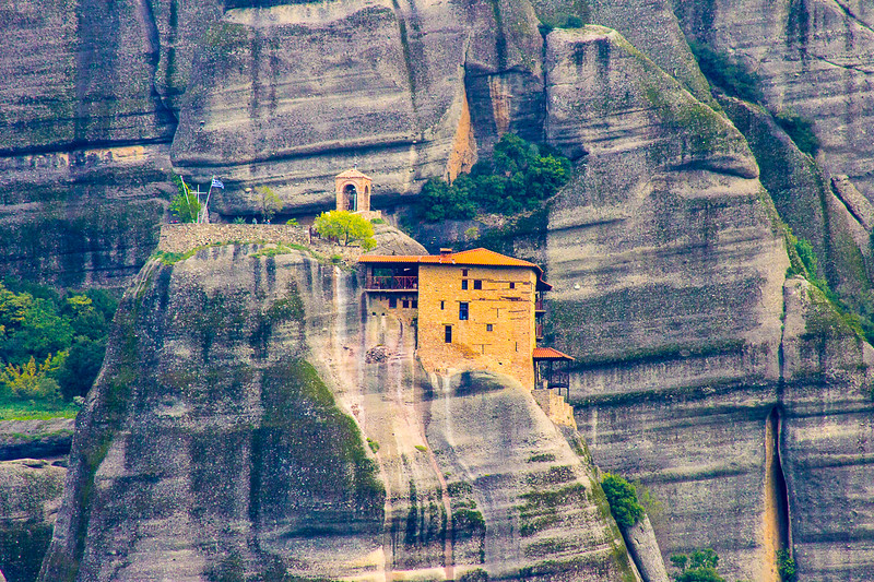 One of the remaining Meteora monasteries.