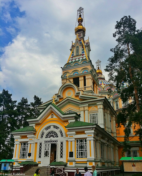 Zenkov Cathedral is the world's 2nd tallest wood building. It's found in Almaty Kazakhstan.