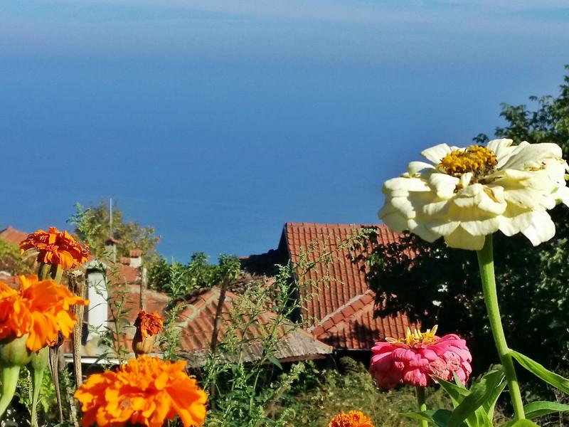 Views of the Thermaikos Gulf from Old Panteleimonas Greece