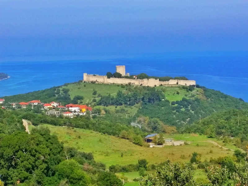 Platamon Castle is a crusader castle located 10 km from Old Panteleimonas.