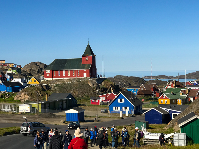 Sisimiut is the second largest community in Greenland and is a stop on our Arctic adventure.