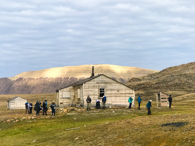 Visiting the abandoned RCMP Outpost on Devon Island was one of the historical highlights of this Arctic adventure.