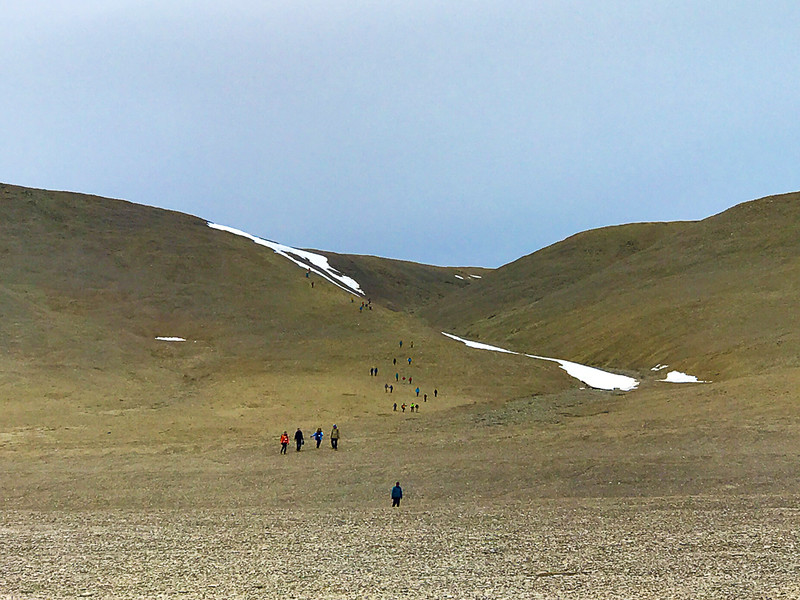 Hiking on Beechey Island was one of the highlights of this Arctic adventure