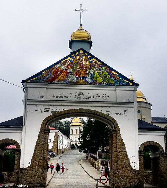 Goshiv Monastery on Yasna Mountain in the Carpathian mountains is an important pilgrimage for many Ukrainians.