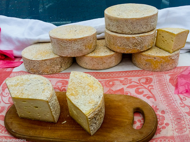 This Novosalytskji cheese was hand-made by a Ukrainian local in the Carpathians, and was delicious!