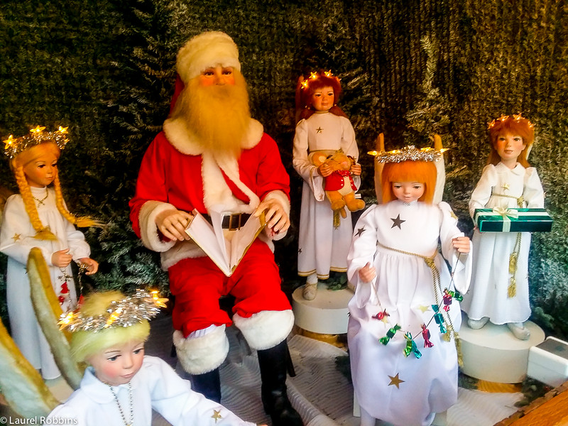 The Christmas Village at the Munich Residenz features a fairytale village which is popular with children.