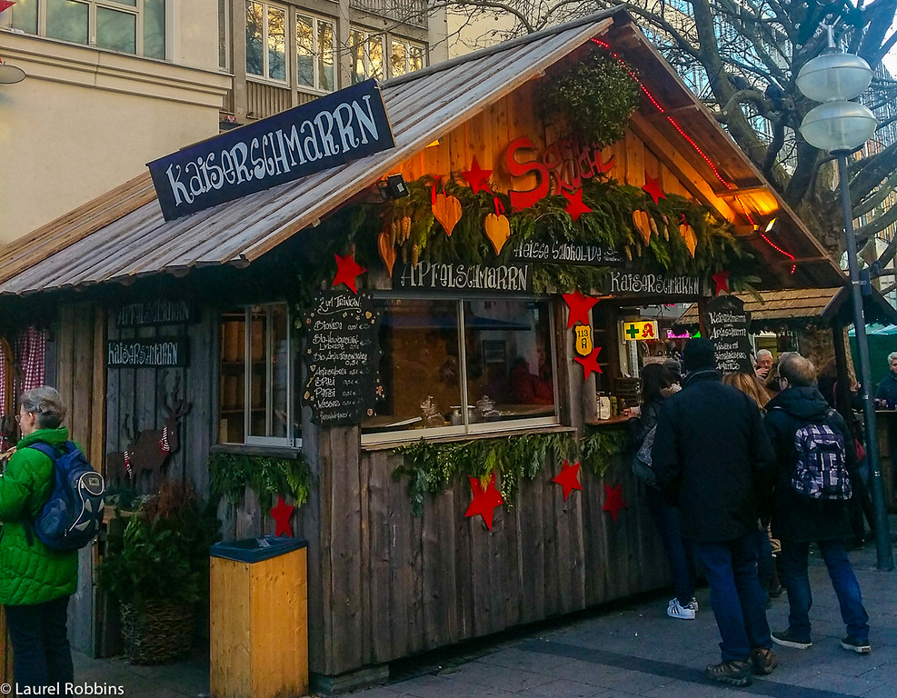 Kaiserschmarrn is a must-try at the Munich Christmas Market in Germany.
