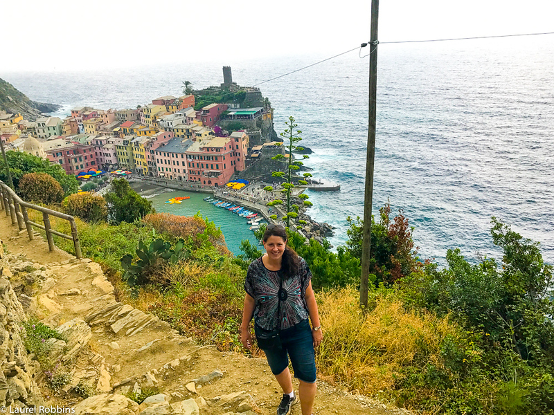 You'll need a Cinque Terre card to hike on certain trails.