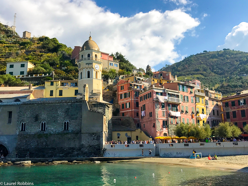 Vernazza is one of the most popular of the Cinque Terre villages