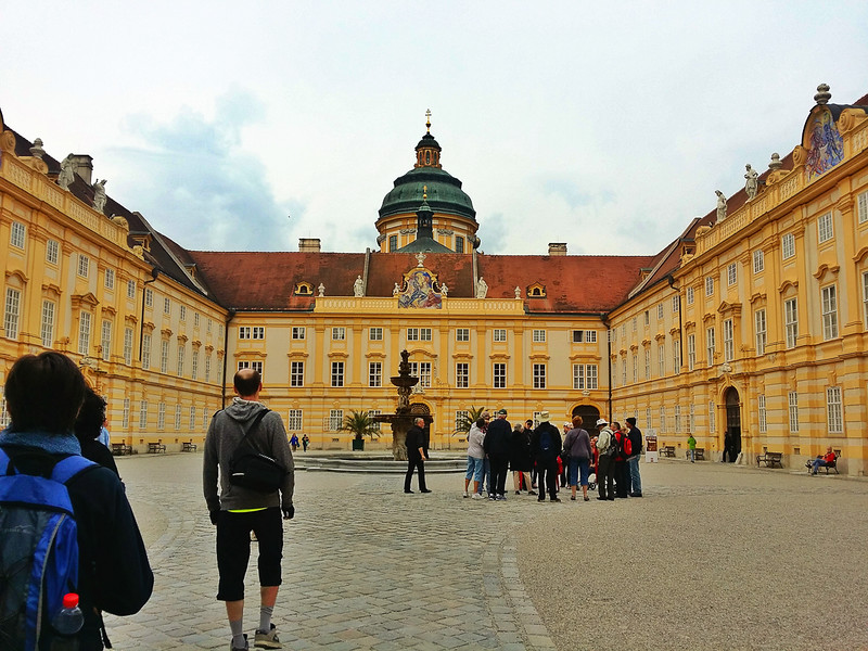 Melk Abbey is one of the highlights along the Danube.