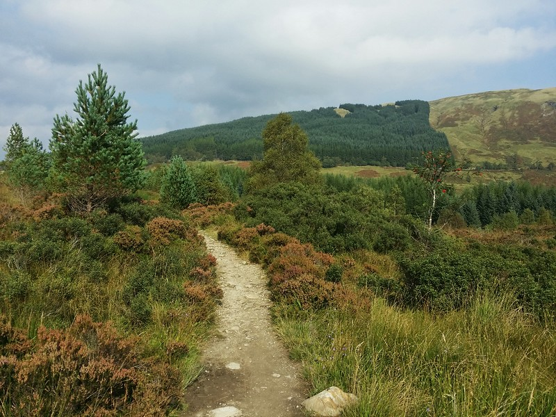 Day 4 hiking from Inverarnan to Tyndrum