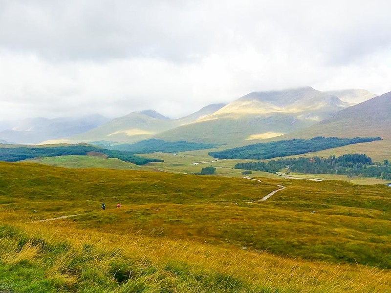 Day 5 hiking West Highland Way from Tyndrum to Glencoe 30km