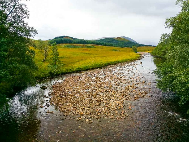 Day 5 Pristine river on the West Highland Way