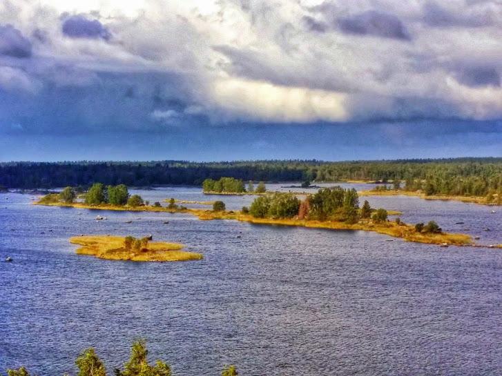 Just a few of Kvarken's 5600 islands!
