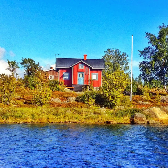 Most Finns have a cabin that they use regularly and some of them even stay all summer!