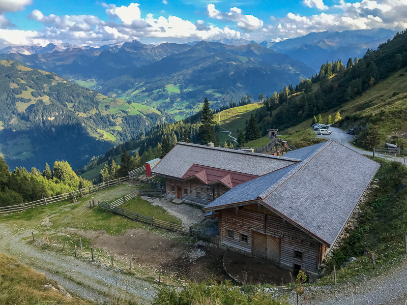 Grossarl is famous for its ~40 mountain huts