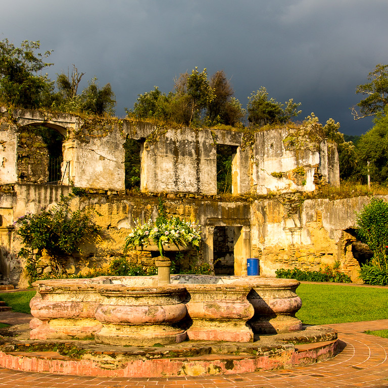 the church ruins are a highlight when travelling to Antigua, Guatemala
