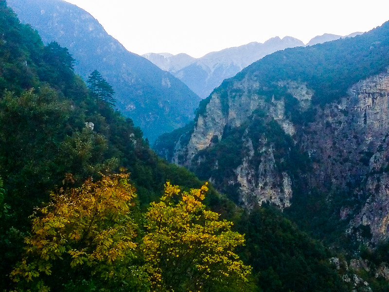 Hiking adventures in Mount Olympus National Park, Greece