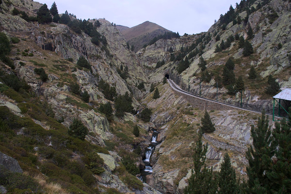 Hiking the The Vall de Núria in the Pyrenees, Spain