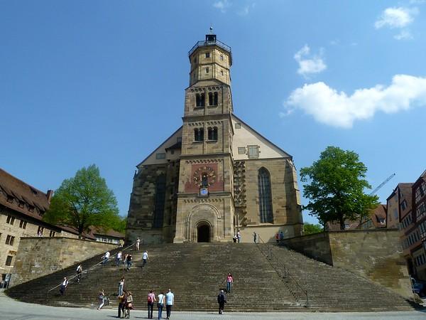schwaebisch hall st michaels church